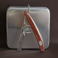 ABB Barber razor Wooden handle (disposable blade)